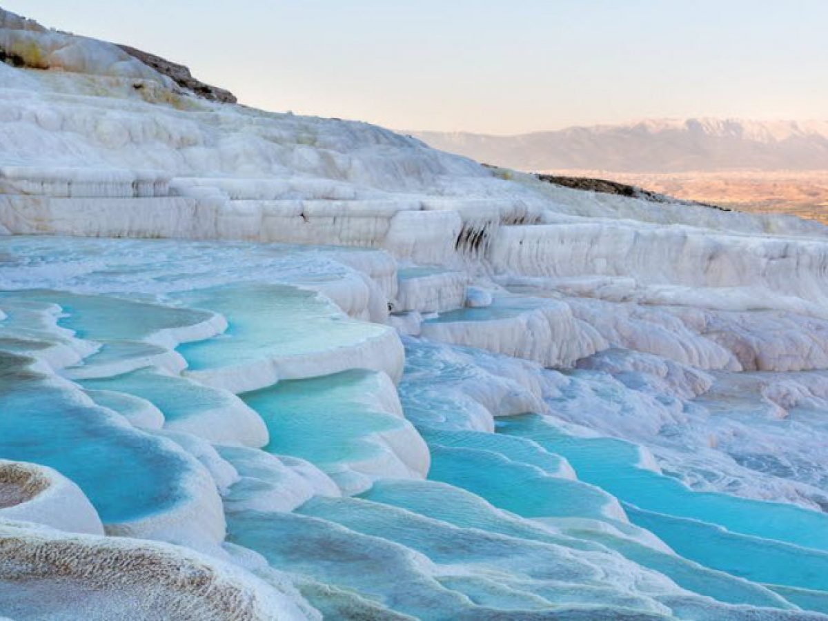 The ancient city of Pamukkale
