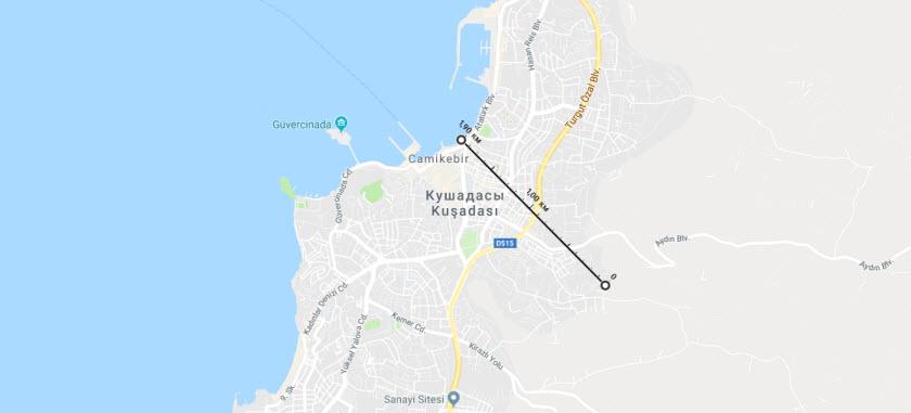 Недвижимость Кушадасы рядом с морем. Купить